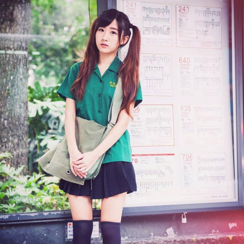 勾起你的初戀悸動~清新小綠綠+台大正妹李思嫺 Si-Xian