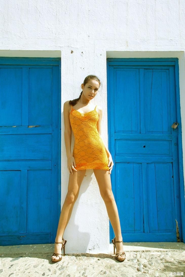 外拍模特的修長美腿[14p] - 貼圖 - 絲襪美腿 -
