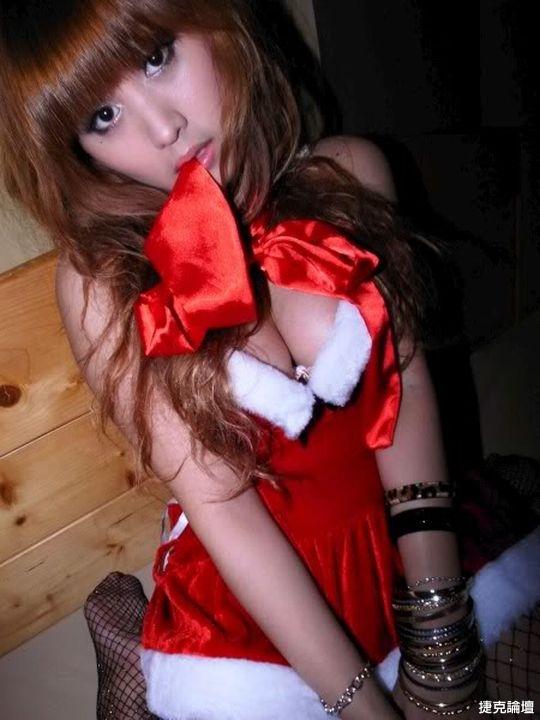 [AV雙區聖誕趴]本土超性感惹火聖誕女大生~Mimosa~ - 貼圖 - 絲襪美腿 -