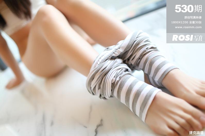 【ROSI匿名寫真】NO.530  學生妹家居服【31P】 - 貼圖 - 絲襪美腿 -