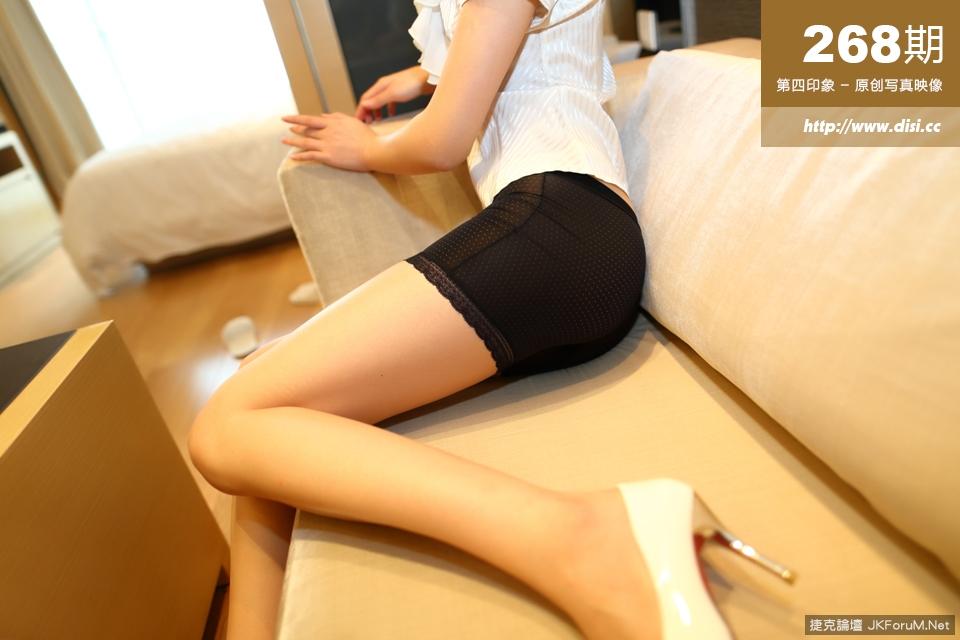 【DISI系列】NO.268長腿妹穿著透明小褲上班太誘人【33P】 - 貼圖 - 絲襪美腿 -