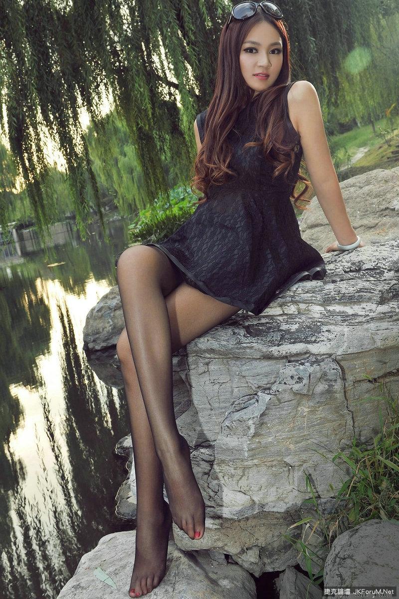 超級正女~ 柔滑薄絲 - 貼圖 - 絲襪美腿 -