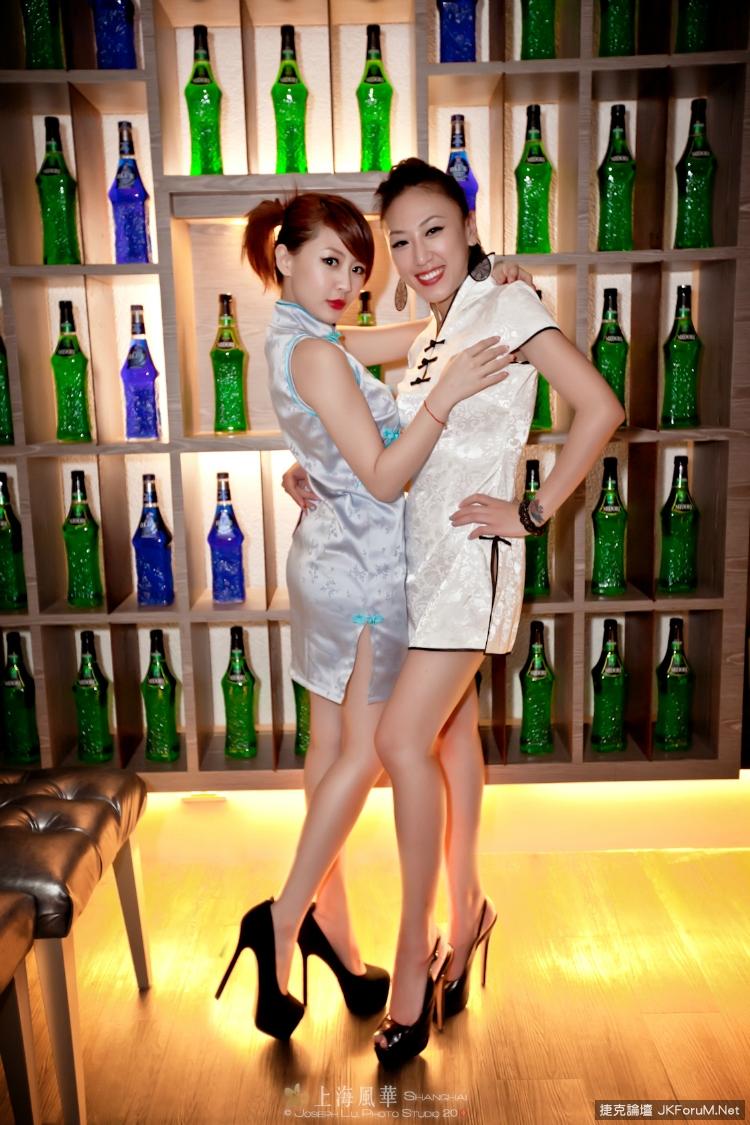 上海風華~旗袍美腿(2) - 貼圖 - 絲襪美腿 -