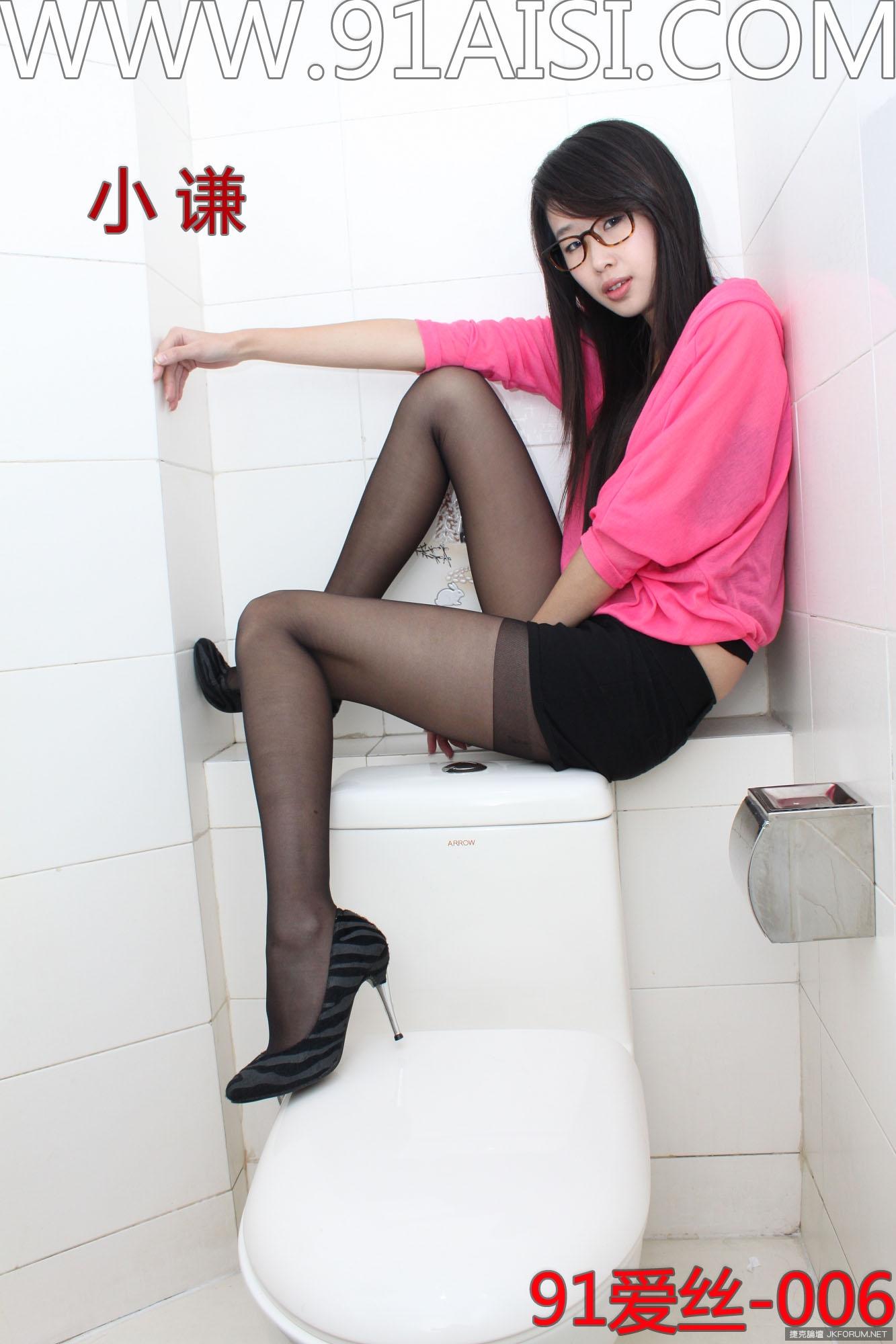【91AISI系列】NO.006 小謙 寫真美腿【39P】 - 貼圖 - 絲襪美腿 -