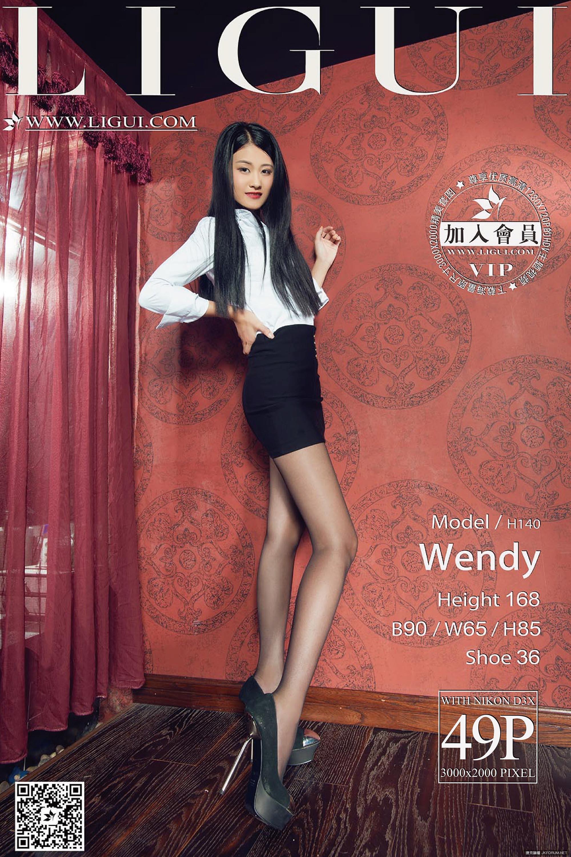 【麗櫃網路麗人系列-】Wendy性感黑絲絲高跟美腿【50P】 - 貼圖 - 絲襪美腿 -