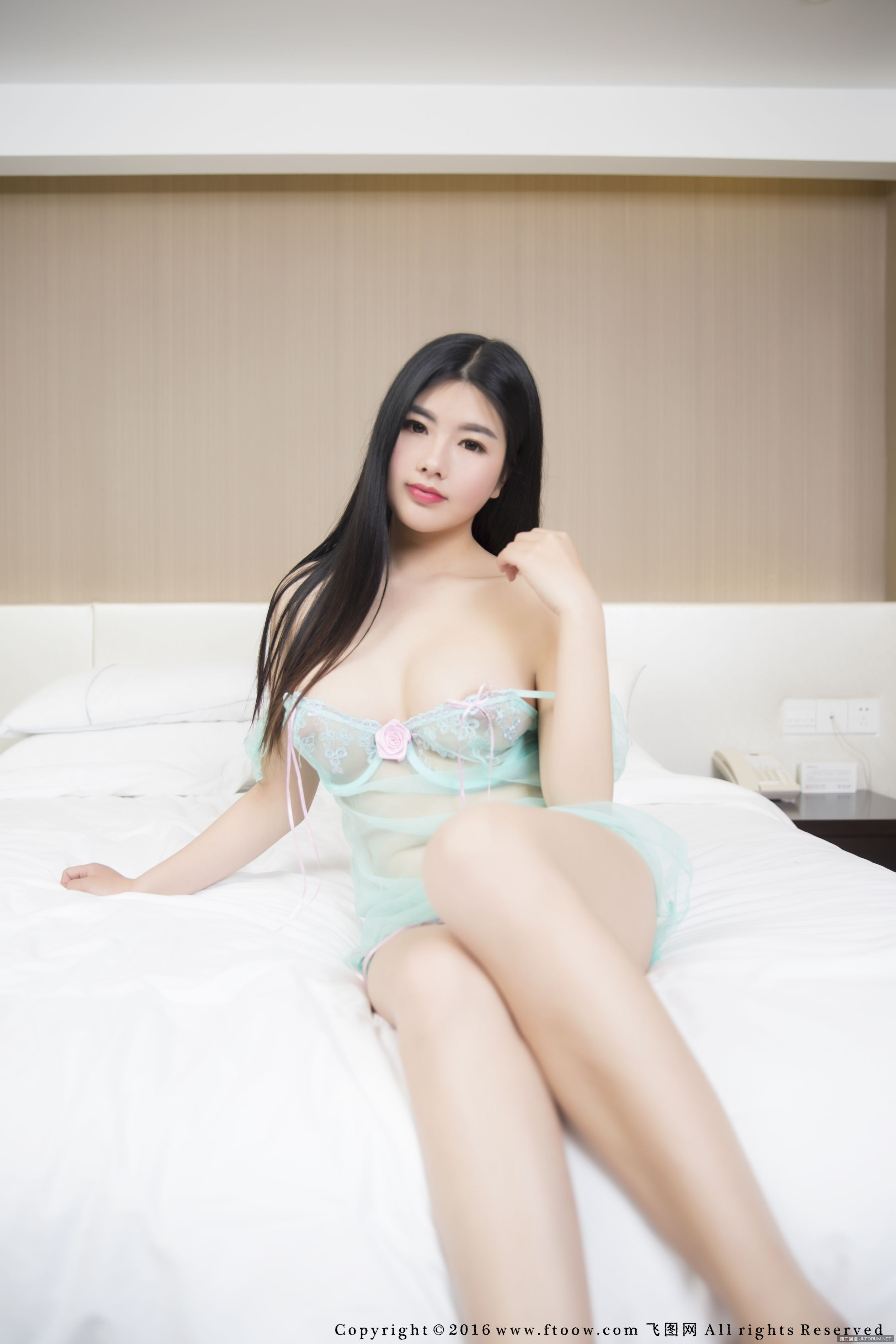 Selena Mixed Chinese Teen See Through Babydoll Ftoow Gravure Girls-2853