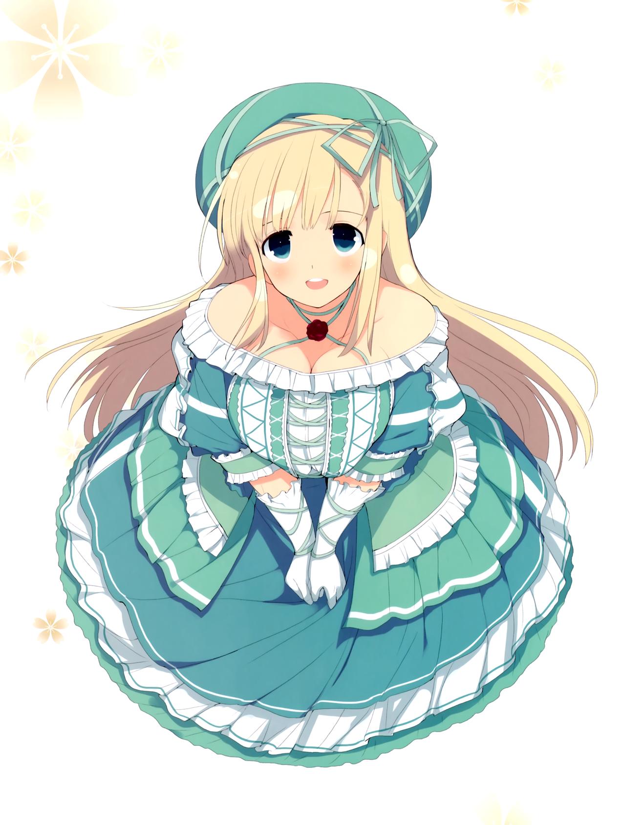 yande.re 362362 cleavage dress senran_kagura yaegashi_nan.png