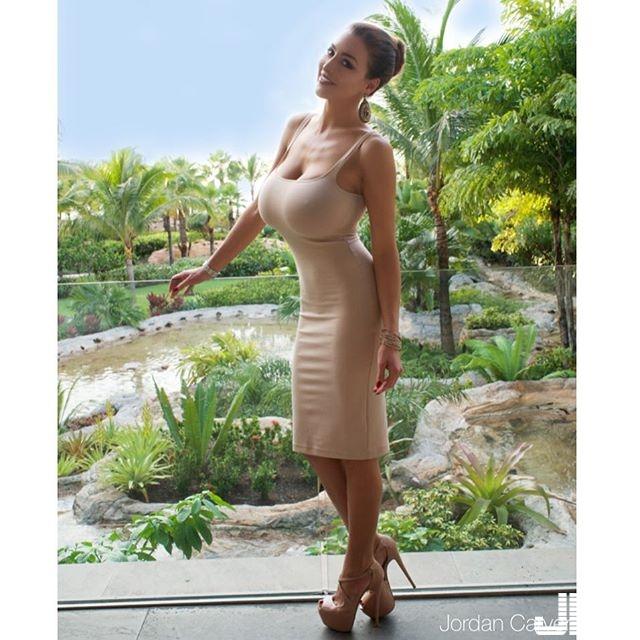 性感女模 Jordan Carver 四肢纖細 卻有如此的巨乳...... - 歐美美女 -