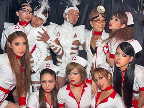 紙醉金迷的東京日本夜店辣妹 夜店辣妹