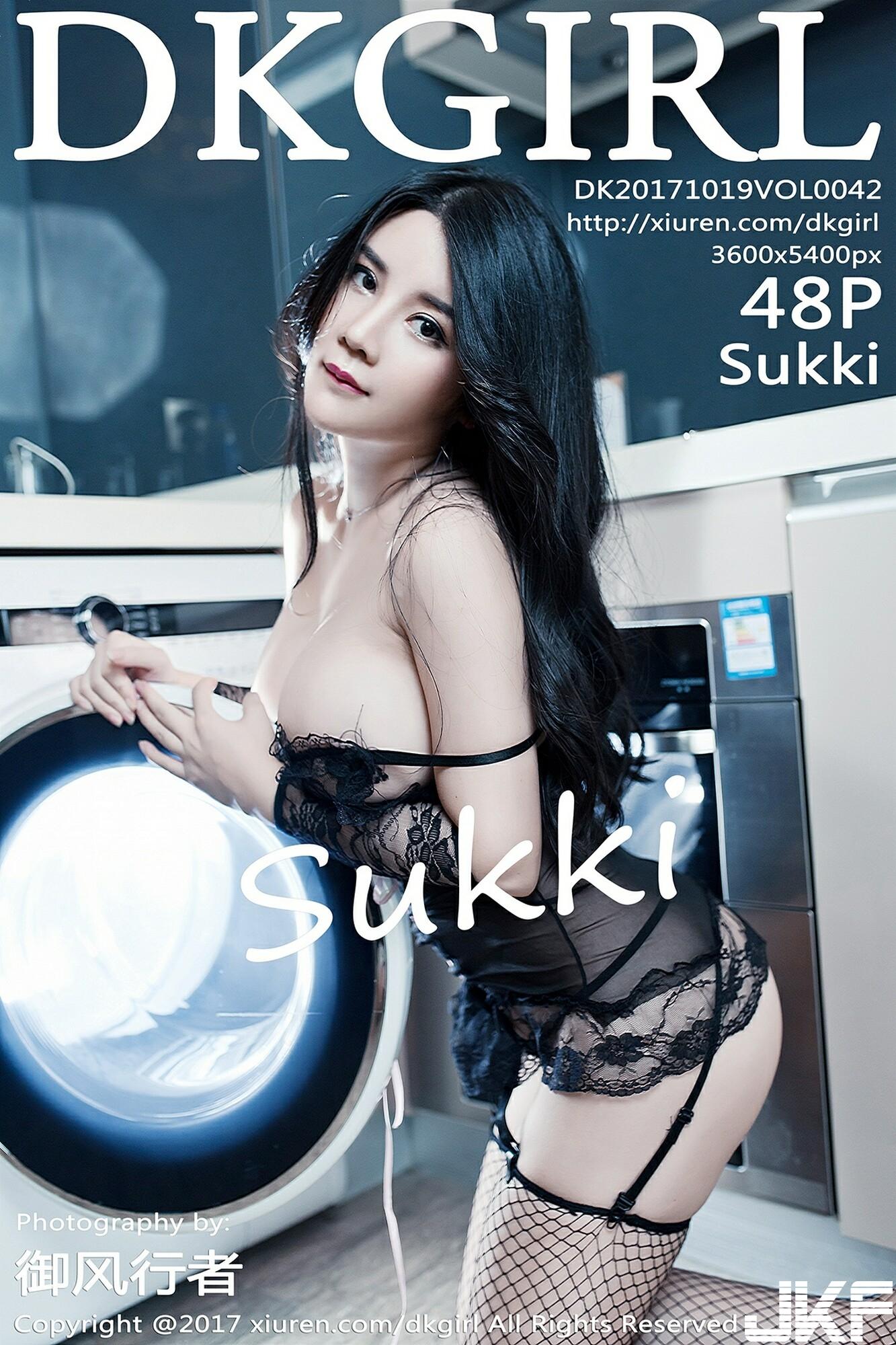 【DKGirl御女郎系列】2017.10.19 VOL.042 Sukki性感寫真【49P】 - 貼圖 - 絲襪美腿 -