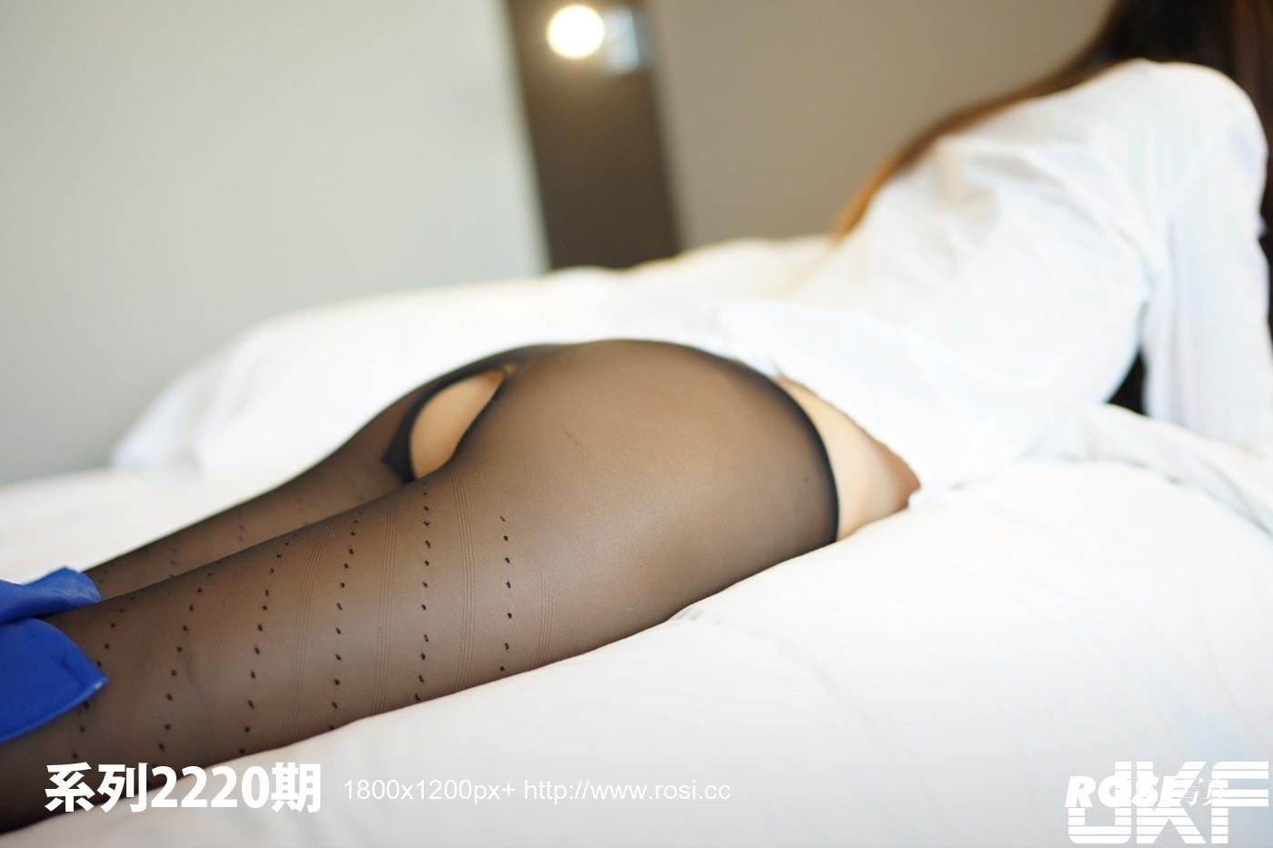 【ROSI寫真系列】2018.01.04 No.2220長腿妹開檔絲襪無內直穿【33P】 - 貼圖 - 絲襪美腿 -