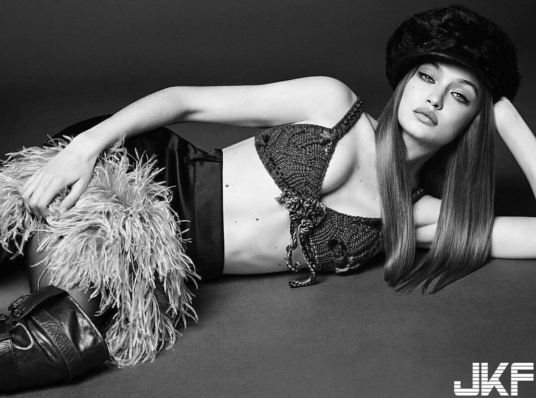 維密超模 GiGi Hadid 高挑好身材根本男人幻想 - 歐美美女 -