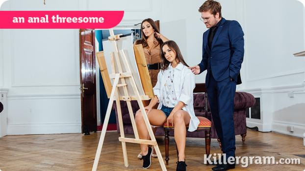 [TEEN][THREESOME][ANAL]Killergram - Kristy Black, Clea Gaultier- An Anal Threesome