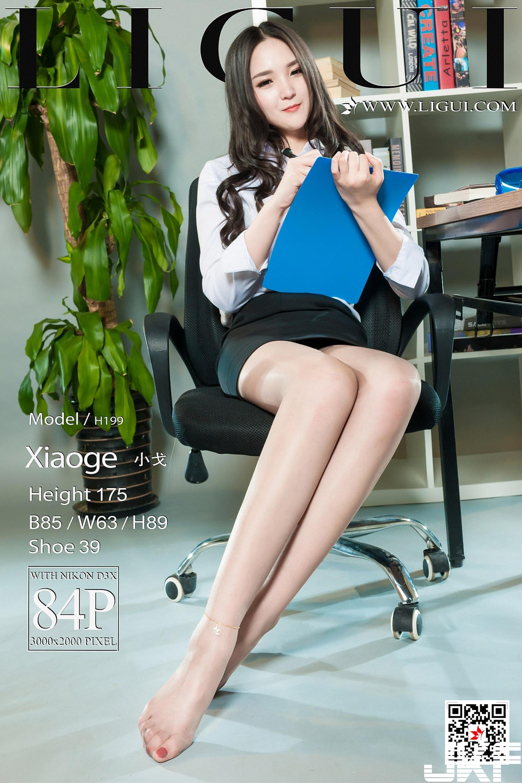 [Ligui麗櫃]2018.03.27 網絡麗人 Model 小戈 [85P] - 貼圖 - 絲襪美腿 -