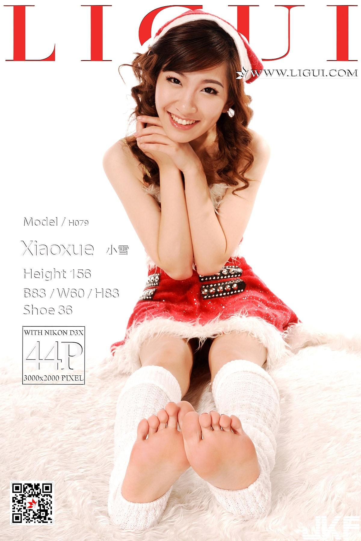 【Ligui麗櫃網路麗人系列】2018.04.02 Model 小雪 - 貼圖 - 絲襪美腿 -
