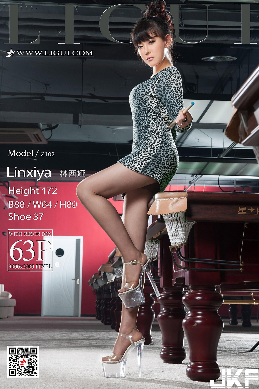 [Ligui麗櫃] 2017.12.26 網絡麗人 Model 林西娅 [64P] - 貼圖 - 絲襪美腿 -