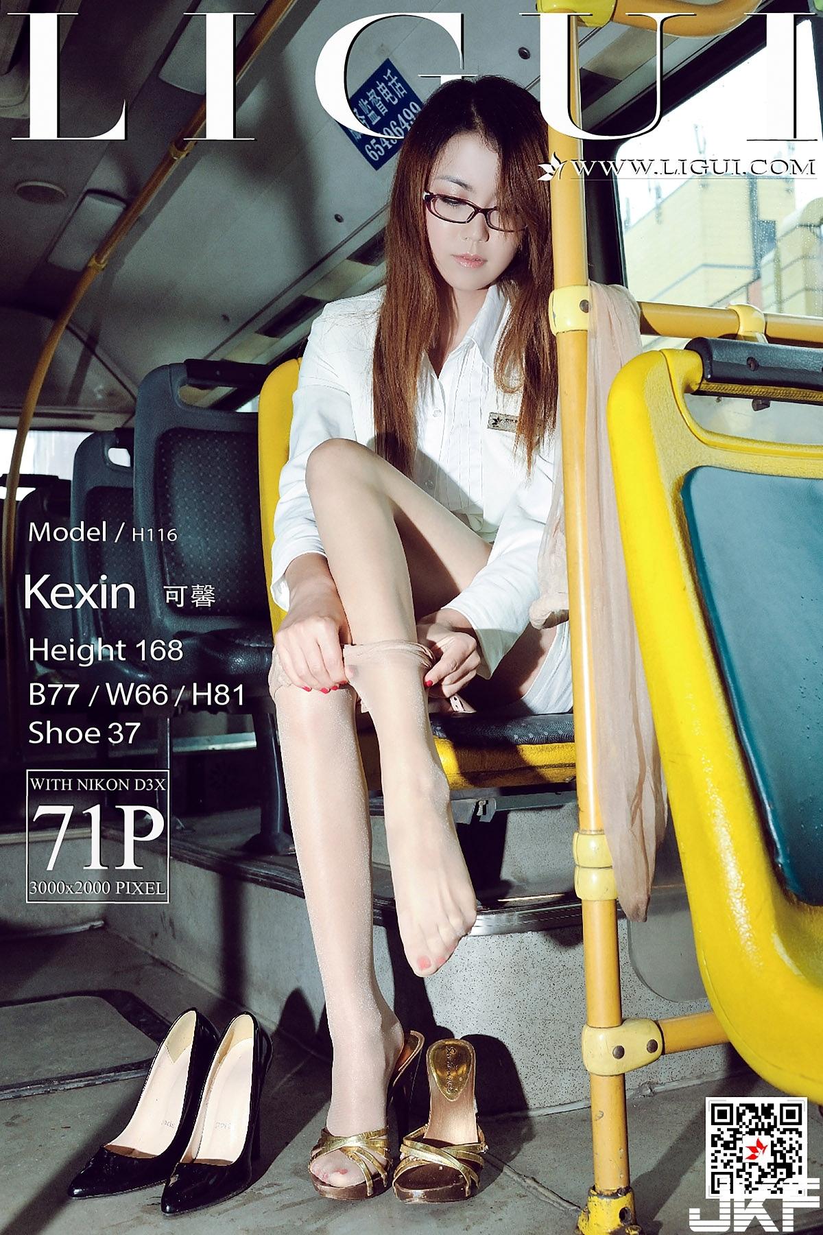 [Ligui麗櫃] 2018.01.07 網絡麗人 Model 可馨 [72P] - 貼圖 - 絲襪美腿 -
