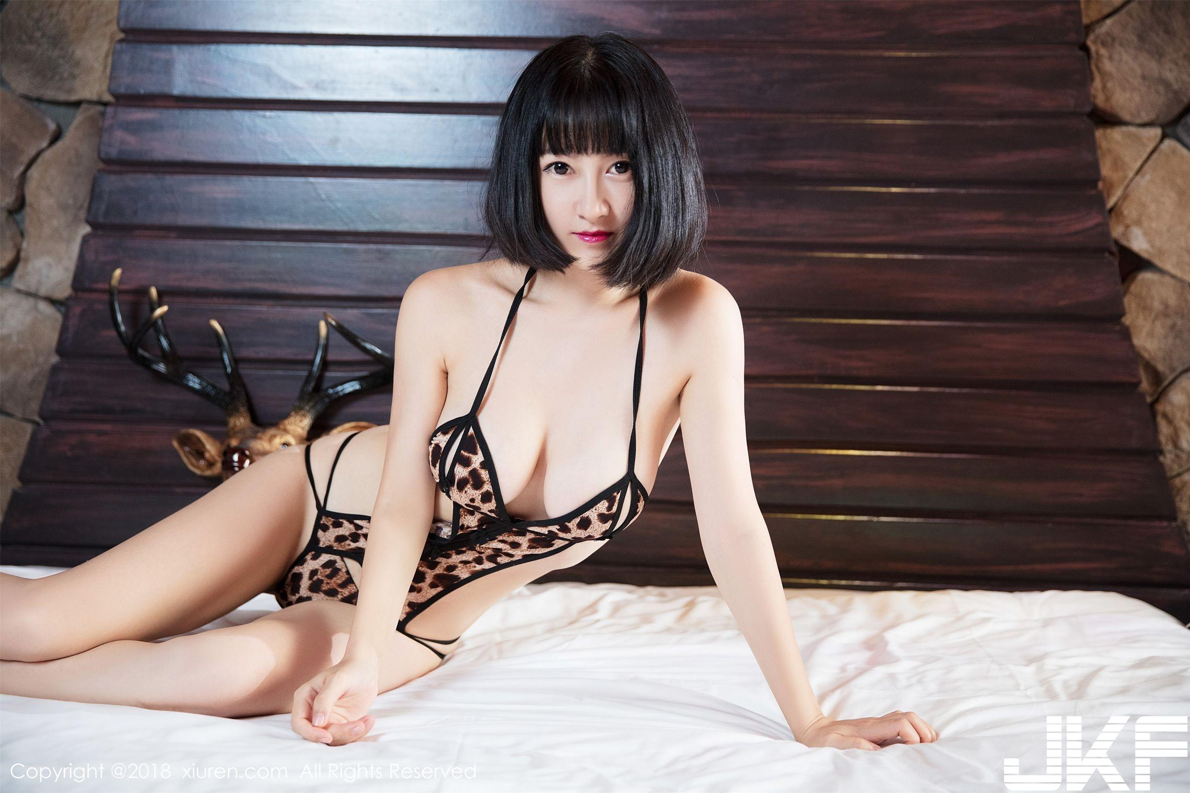 (43P)新人模特小探戈 火紅內衣情趣繩藝_秀人網 - 貼圖 - 清涼寫真 -