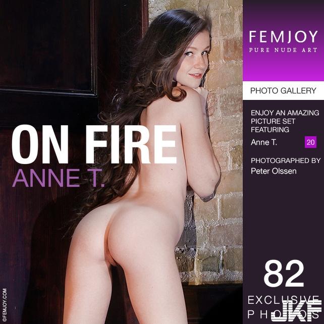 Femjoy Anne T. - On Fire (EMILY BLOOM) - 貼圖 - 歐美寫真 -