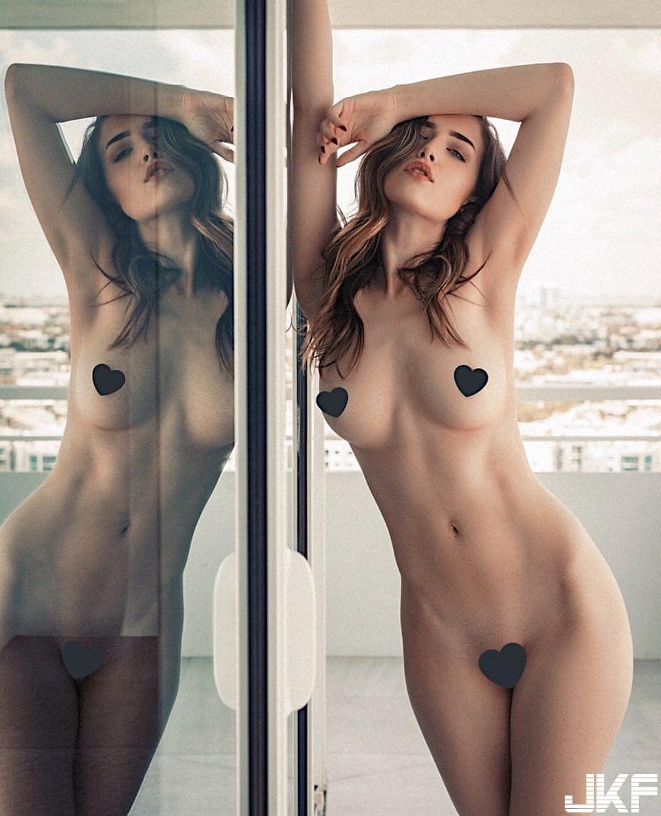 極品美胸 Lauren Summer 白嫩的「飛彈等級美乳」加上超性感腰窩… - 歐美美女 -