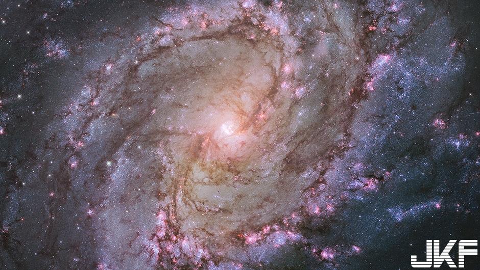Galaxy M83 南風車銀河 M83(攝於2014年)