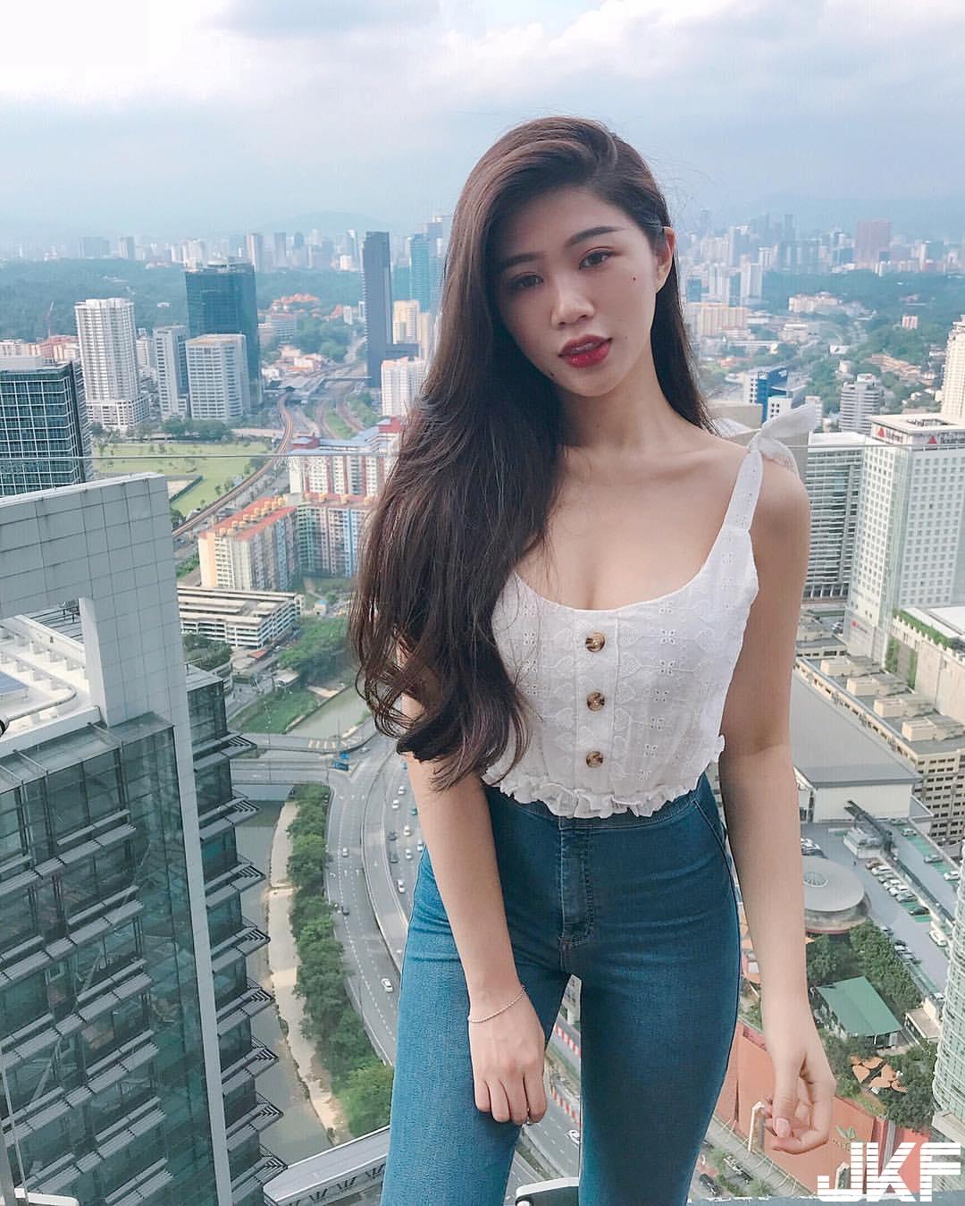 大奶姐姐 Chienwei  差點炸出螢幕:整個畫面是香的 - 素人正妹 -
