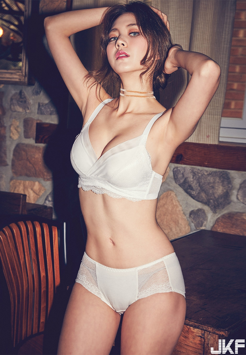 [CHUU] EVE PUSH UP CROCHET BRA + PANTIE SET [WHITE] 016.jpg