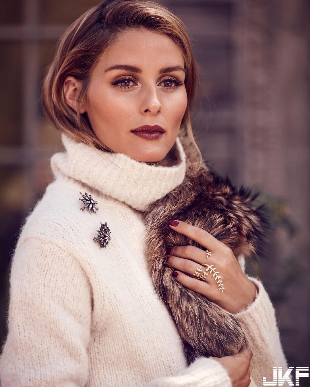 時尚與美麗兼具Olivia Palermo人見人愛的臉蛋 - 歐美美女 -