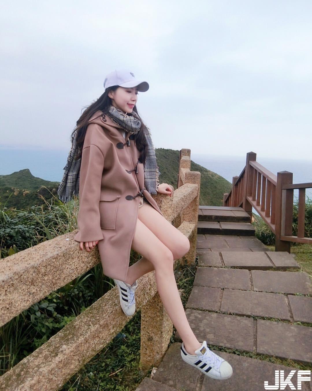 逆天長腿妹劉雨岑 完全超越大學生的身材規格 - 素人正妹 -