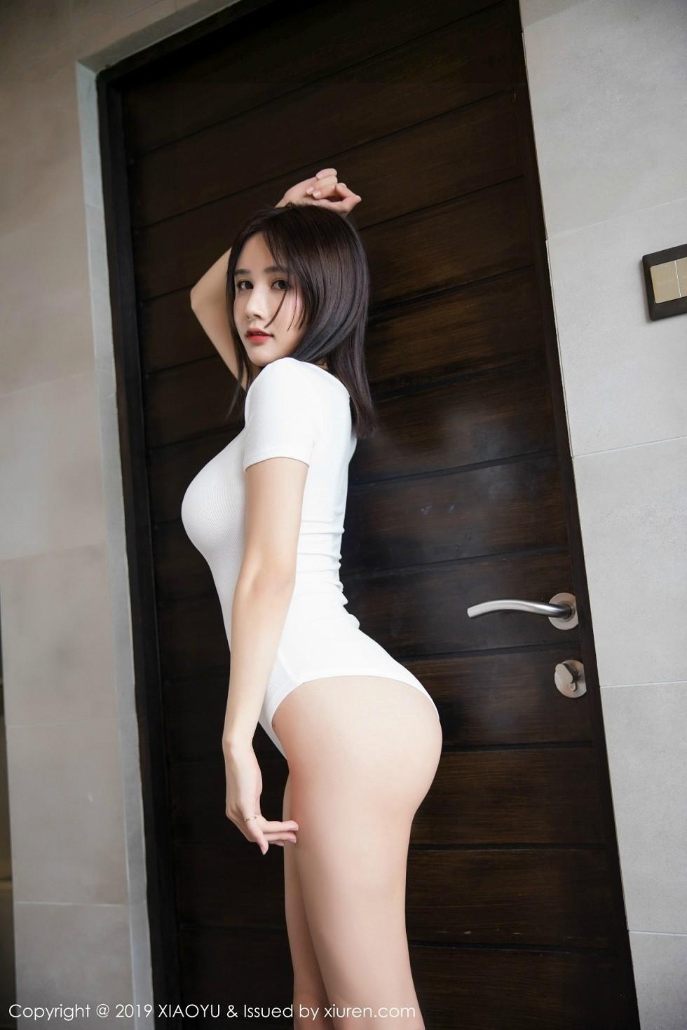 女神小沫琳馬爾代夫旅拍浴室里高叉連體衣濕身誘惑寫真 - 貼圖 - 清涼寫真 -