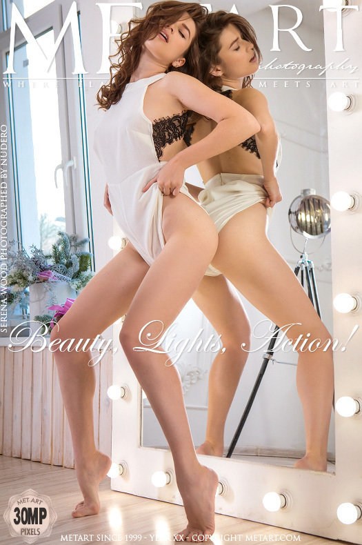 Serena Wood-Beauty, Lights, Action! - 貼圖 - 歐美寫真 -