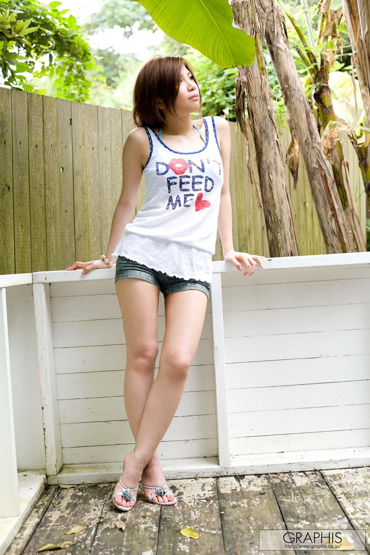 白嫩水滴美乳清晰笑容根本完美 愛原つばさ - 亞洲美女 -