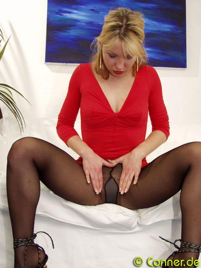 絲襪誘惑 107 conner-pantyhose - 貼圖 - 歐美寫真 -