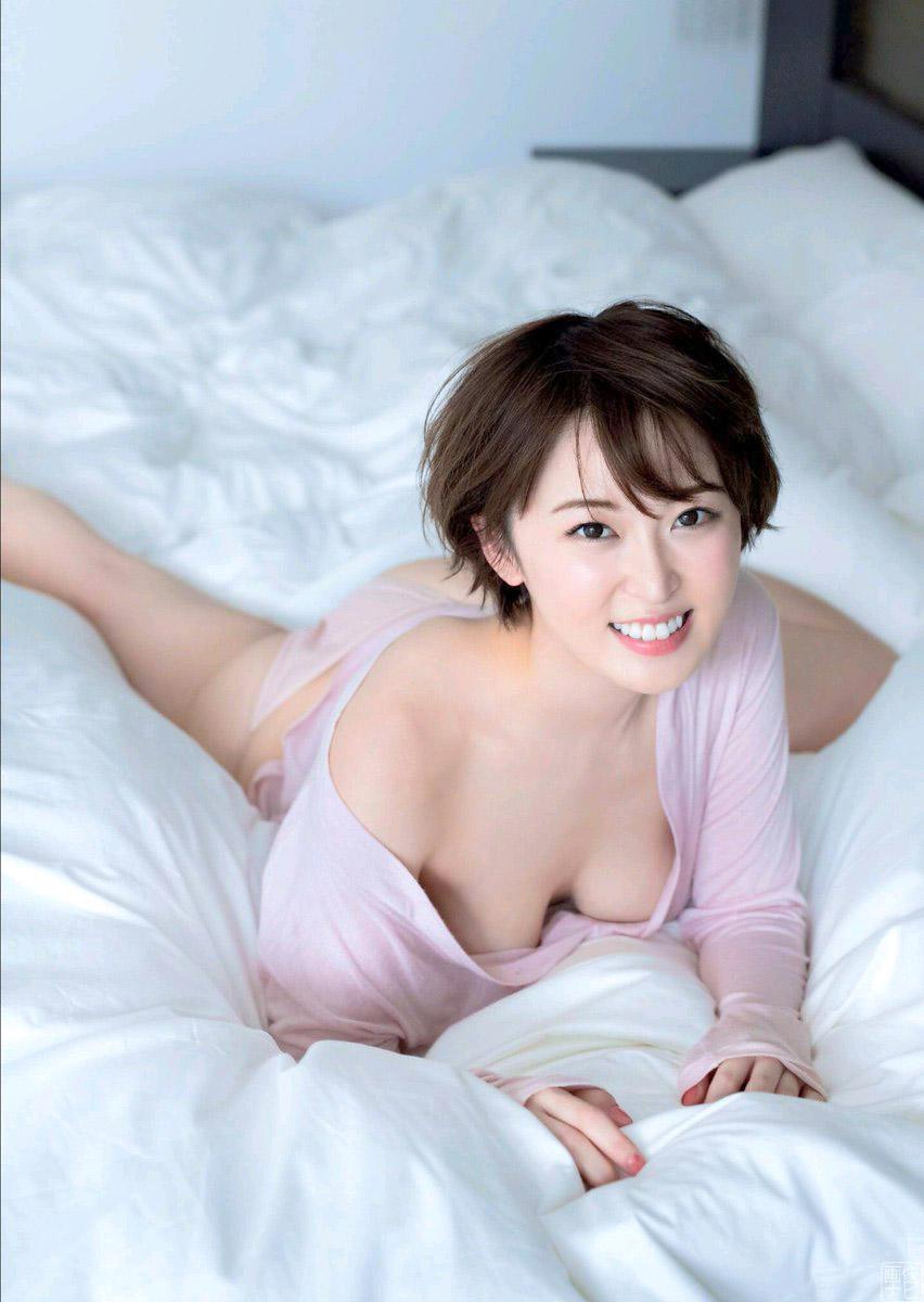 忍野さら(24) 白くて柔らかいエロ乳畫像--2019/9/20追加 - 亞洲美女 -