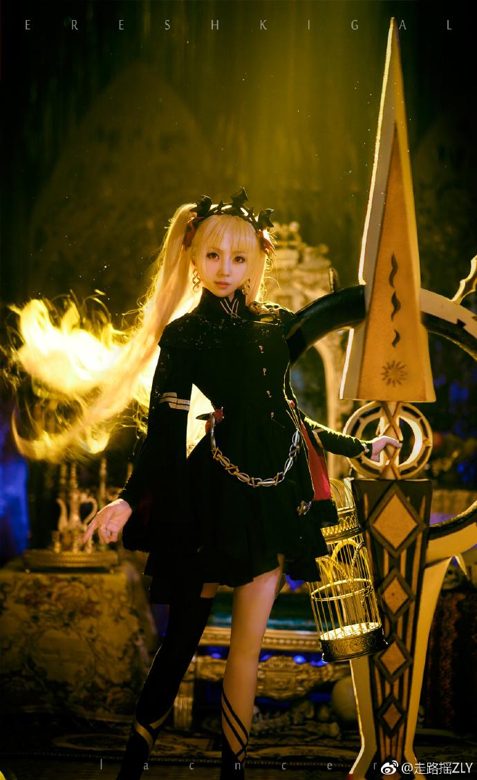 《fgo》艾蕾什基伽爾cosplay  @走路搖ZLY - COSPLAY -