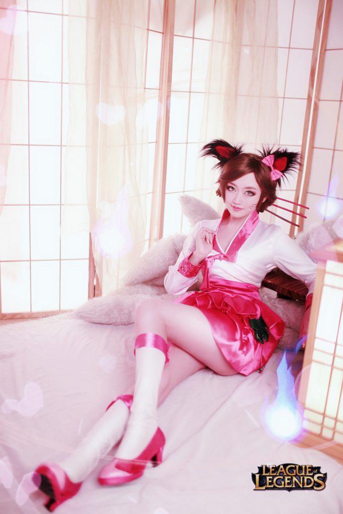 Cosplay——英雄聯盟阿狸  CN:LunaLeung/皇甫香凝 - COSPLAY -