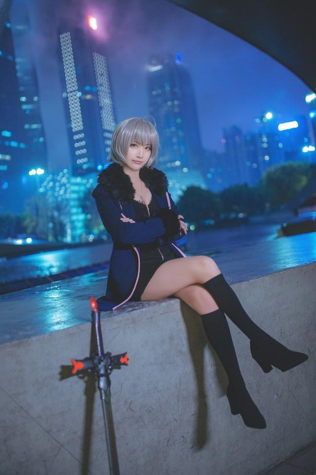 Fate/Grand Order 新宿黑貞德 Cosplay - COSPLAY -