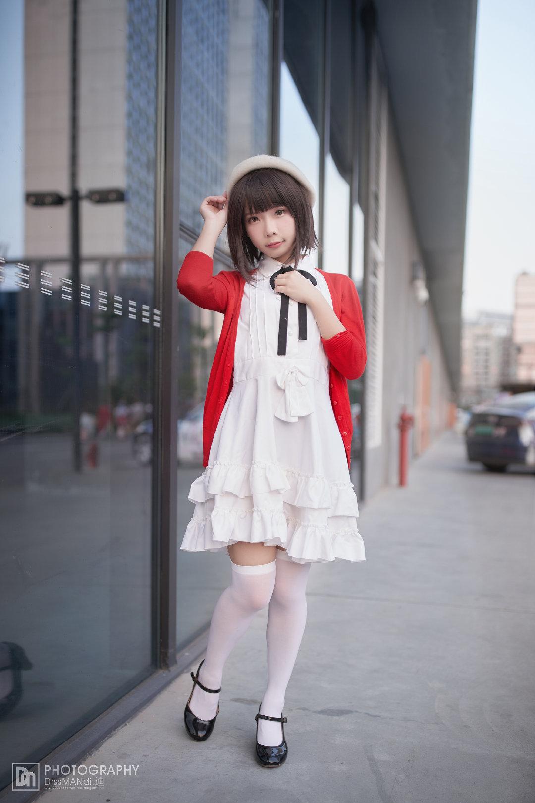 路人女主的養成方法 加藤惠 Cosplay街拍 - COSPLAY -