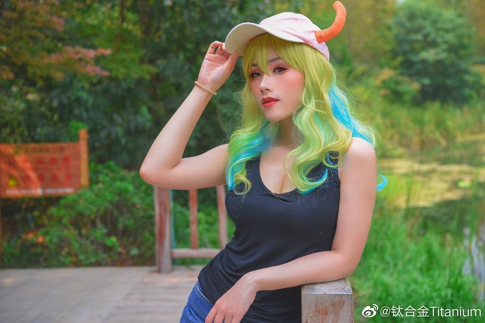 《小林家的龍女仆》妹抖龍 露科亞  @钛合金Titanium - COSPLAY -