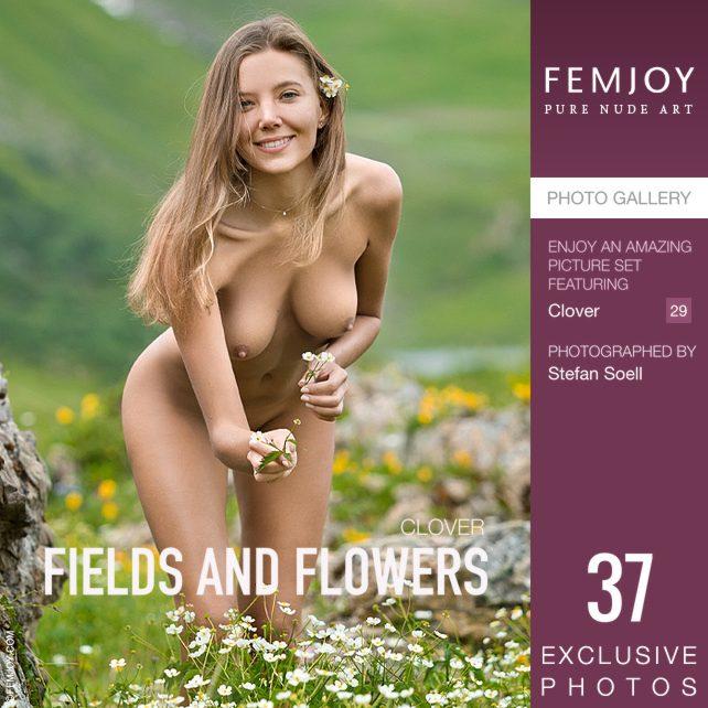 [FemJoy] 2019-11-09 Clover – Fields And Flowers [37P] - 貼圖 - 歐美寫真 -