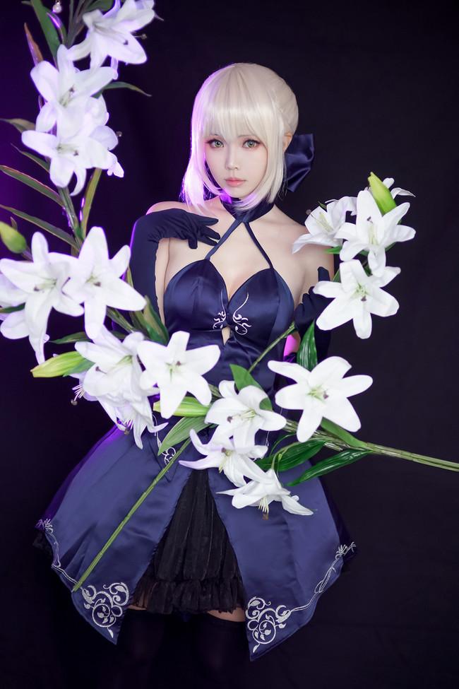 ElyEE子扮演Fate-Grand-Order阿爾托利亞·潘德拉貢 - COSPLAY -