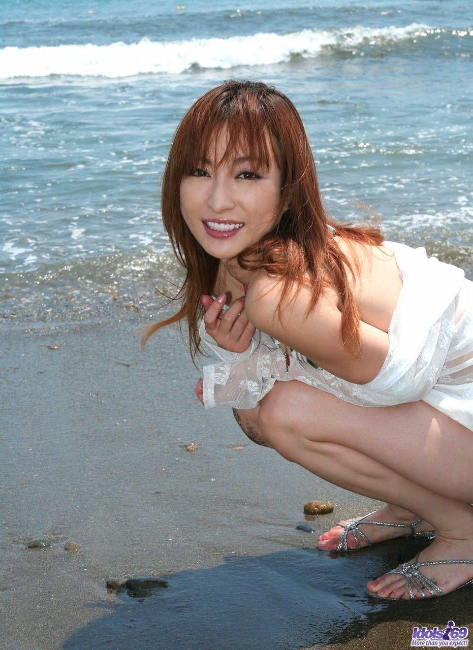 紅發的日本女孩 - 貼圖 - 清涼寫真 -