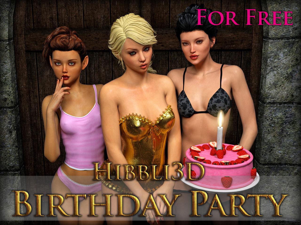 生日聚會 - 情色卡漫 -