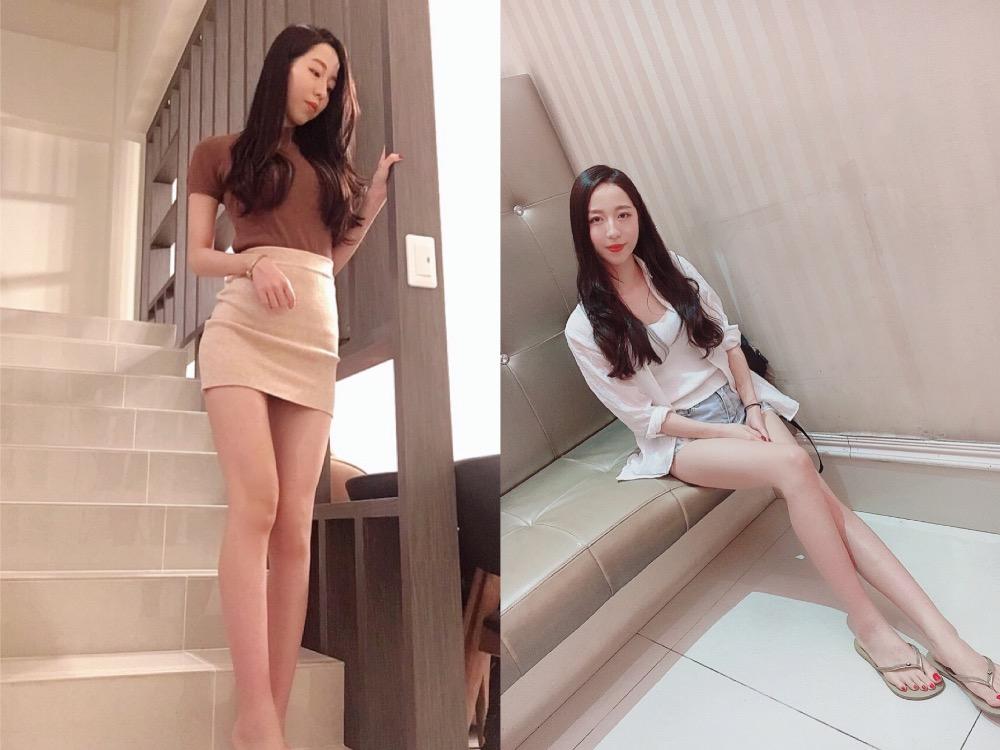 神級美腿女神—林子涵 - 美女圖 -