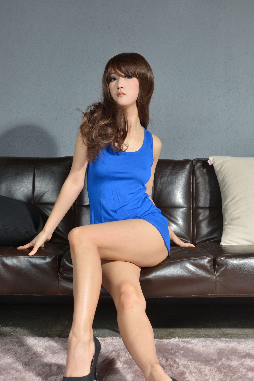 【模特養成】 韓模 - MINA米娜 美豔女模VIP無聖光寫真福利圖 03 - 貼圖 - 絲襪美腿 -