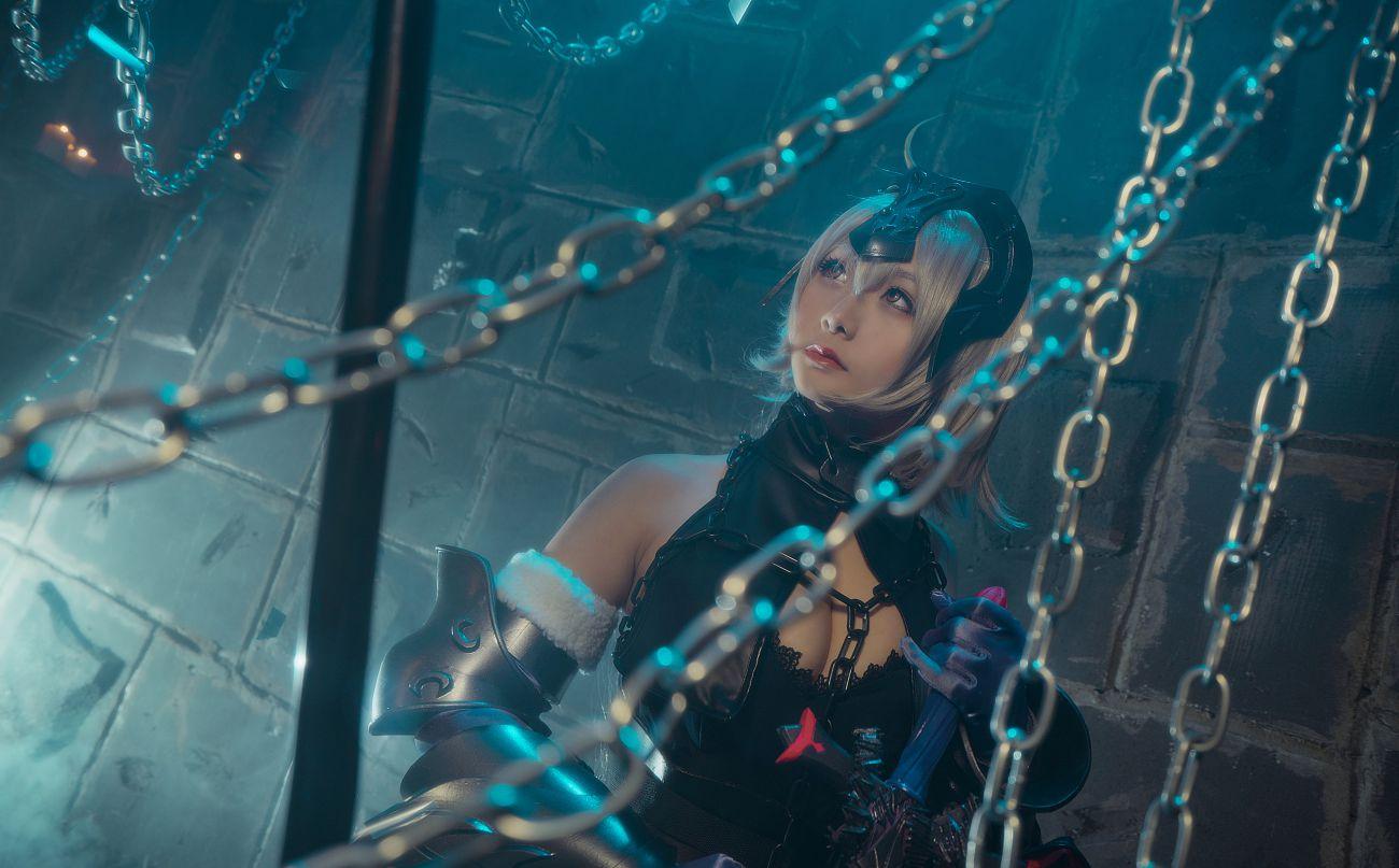 《Fate/Grand Order》黑貞德高質量性感Cosplay【CN:三刀刀Miido】 - COSPLAY -
