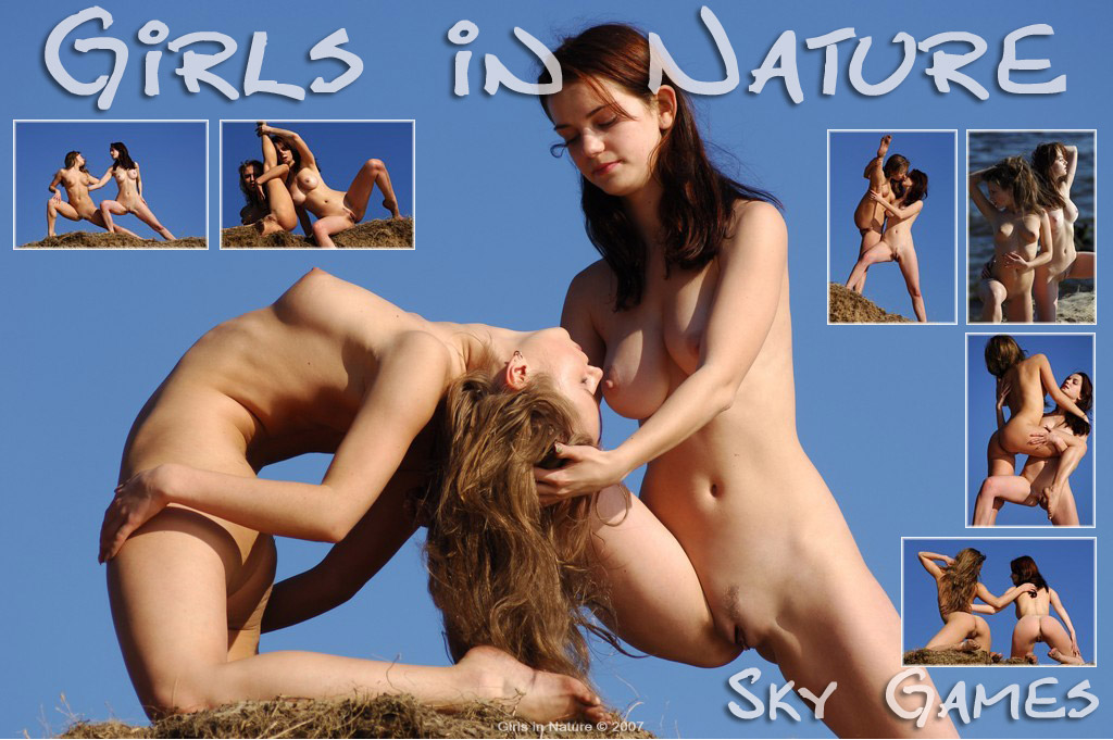 Girls in Nature - Nadin A and Kati A - Sky Games - 148 pictures - 貼圖 - 歐美寫真 -