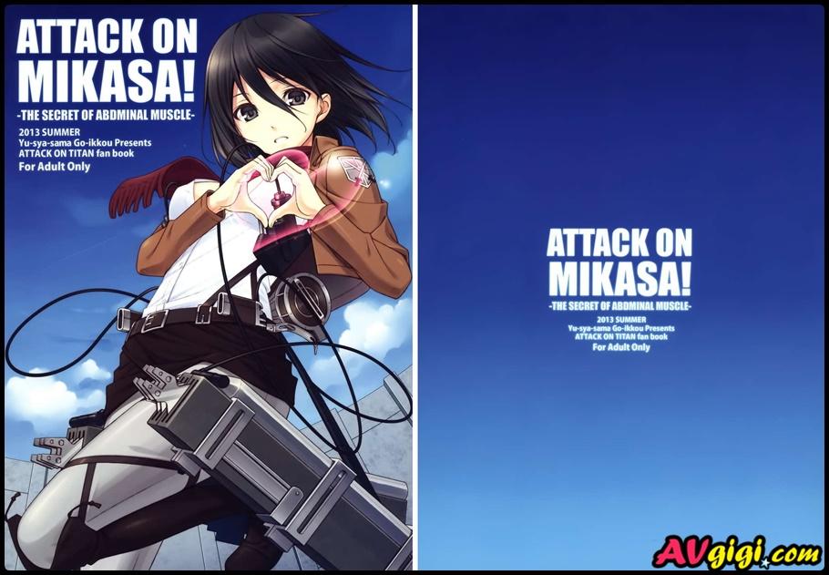 ATTACK ON MIKASA (進撃の巨人) [28P] - 情色卡漫 -