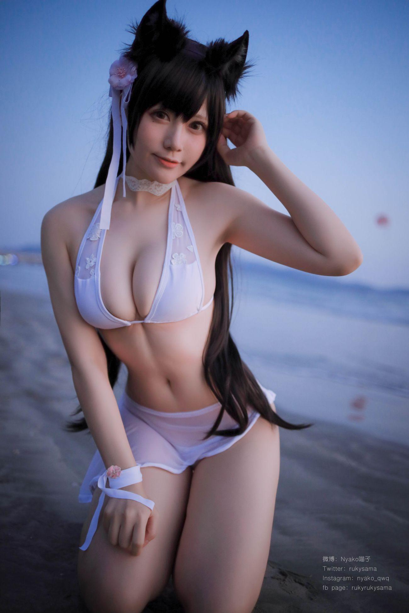Nyako喵子 愛宕泳裝 - COSPLAY -