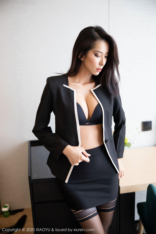 陳良玲Carry [XIAOYU]高清寫真圖 VOL.227黑色內衣絲襪完美身材[101P] - 貼圖 - 清涼寫真 -
